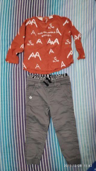 Camisetas Zara niña de segunda mano en Jaén en WALLAPOP