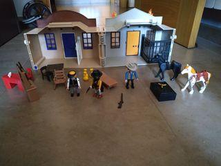 Playmobil maletín oeste