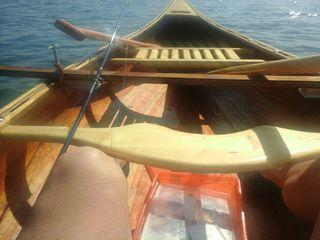 Canoa Canadiense madera