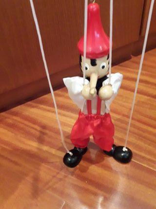Pinocho marioneta.