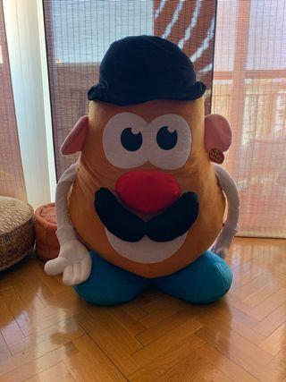 Mr potato de peluche gigante. Con etiquetas