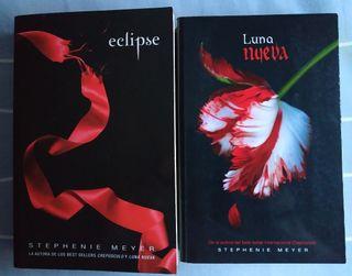 Saga crepúsculo. Eclipse y Luna Nueva