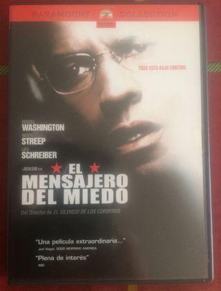 El mensajero del miedo en DVD (3x2)