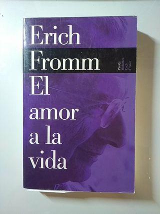 Libro El amor de la vida de Eric Fromm