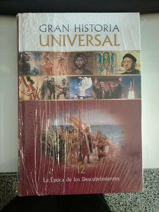 Libro Gran historia Universal nuevo y precintado.