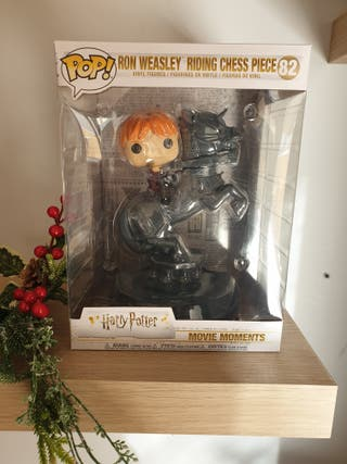 Funko Pop Ride Ron with Chess Piece