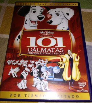 101 DÁLMATAS EDICIÓN PLATINO 2 DVD.