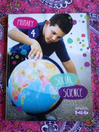 Libro de estudio 4 primaria Social Science(ANAYA)