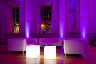 Macetas barras de bar muebles led