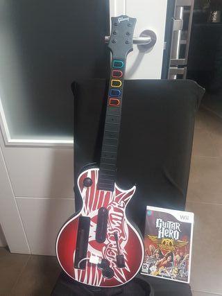 Nintendo Guitar Hero+Guitarra