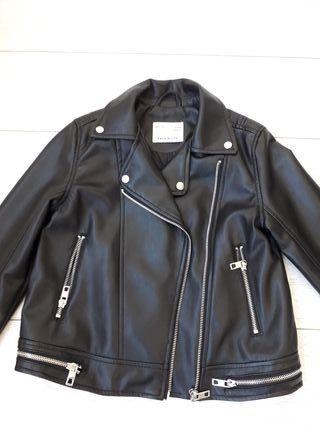 chaqueta de cuero Zara niña
