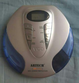 Reproductor CD portatil ARTECH