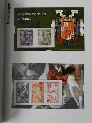 El franquismo en sellos y billetes
