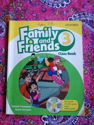 Libro de estudio Family and Friends 3primaria