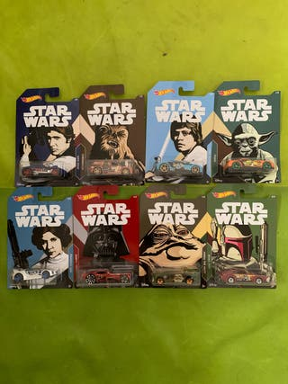 Coches hot wheels coleccion Star Wars