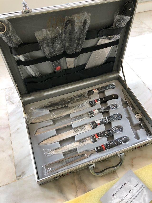 Juego de cuchillos Solingen