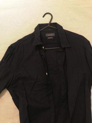 Camisa Zara slim fit talla S