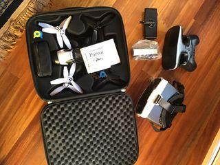 Drone Parrot Bebop 2 +fpv + maletín funda