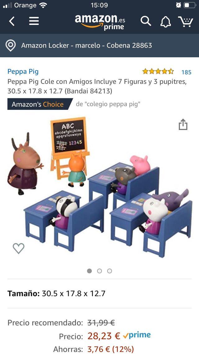 Casa y cole con amigos Peppa Pig