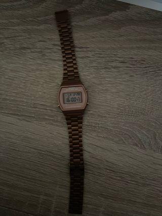 Reloj Casio original metal rosa