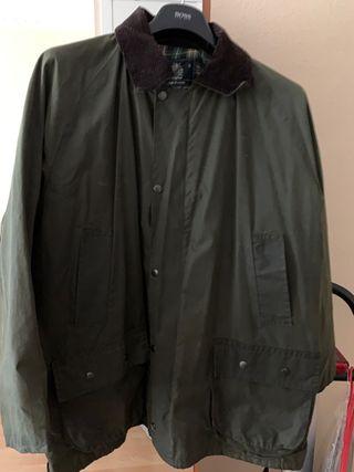 Abrigo tipo Barbour talla XL para hombre
