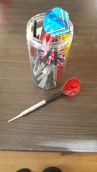 se vendes dardos de punta de plastico
