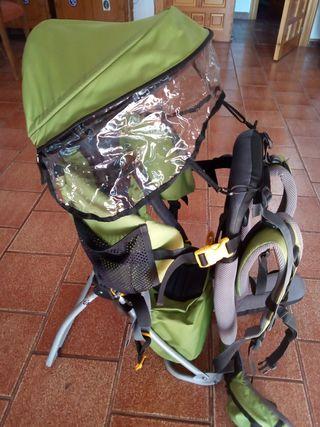 Mochila portabebé de senderismo