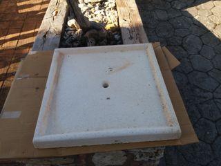Se vende plato de ducha de piedra para jardín