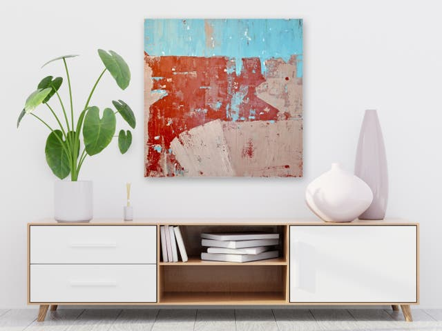 CUADRO PINTURA - Abstract Painting de local artist