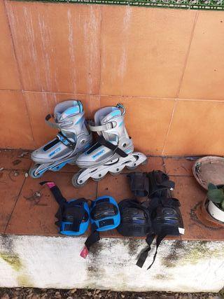 patines ajustables