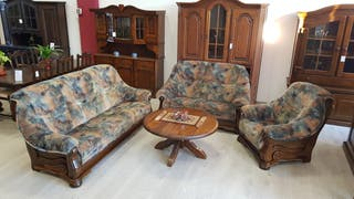 Sofas Rusticos con Tapiceria