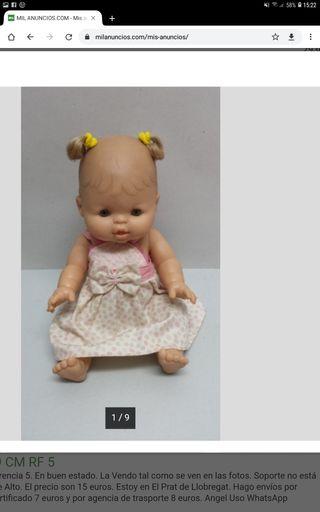muñeca paola reina 32 cms