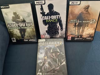 Juegos pc Call Of Dutty