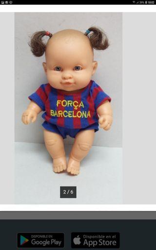 muñeca paola reina fc barcelona