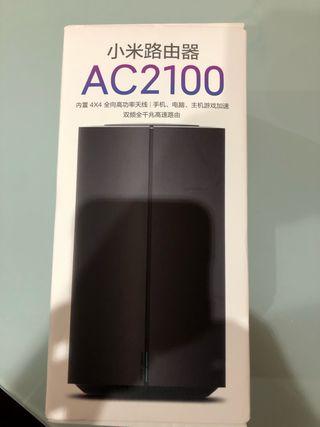Router neutro xiaomi AC2100 + repetidor