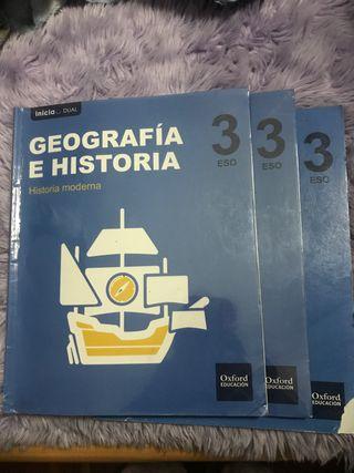 Libros geografía e historia 3º ESO