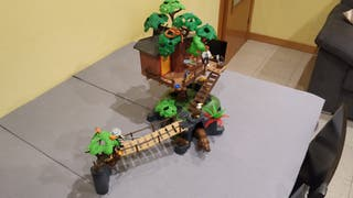 Playmobil cabaña del arbol