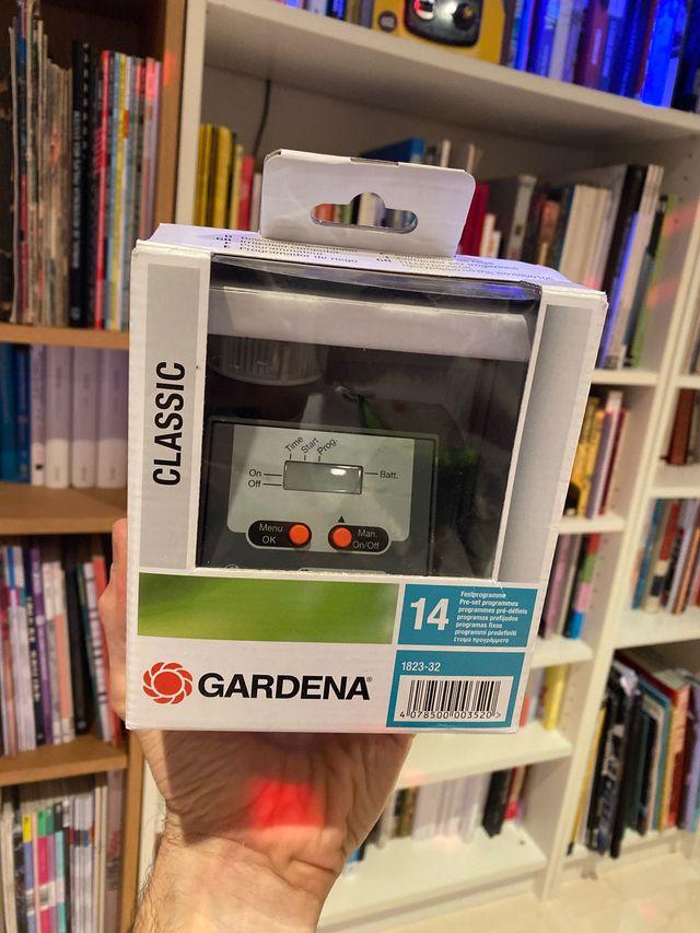 Programador de riego nuevo gardena classic