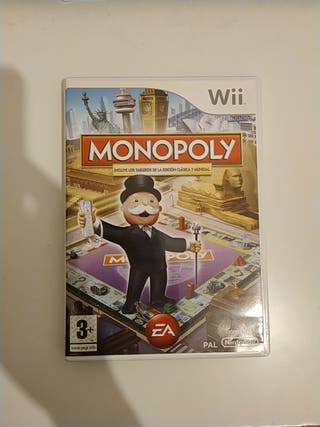 Videojuego Wii Monopoly