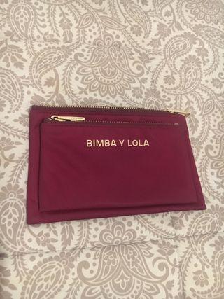 Monedero granate Bimba y Lola