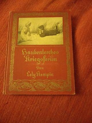 Libro antiguo aleman