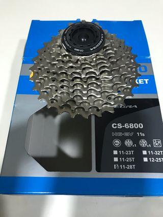 Cassette Ultegra 6800 11 velocidades