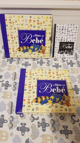 Libro del bebe: fotos, datos y recuerdos. NUEVO.