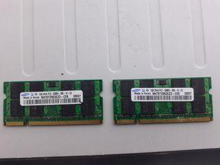 memoria ram portátil ddr2 so-dimm