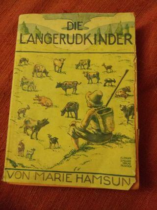 Libro cuentos antiguo en aleman