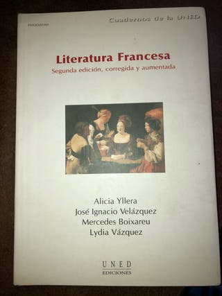 Literatura Francesa, libro UNED