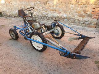 Segadora 4 ruedas documentada