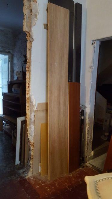 madera estante color pino veteado