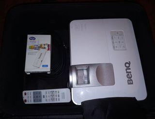 Proyector Benq MW632ST Tiro corto + maleta + QCast