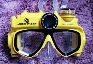 Gafas de buceo con cámara de foto y vídeo
